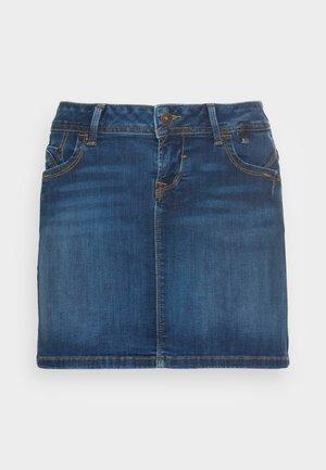 ADREA - Jupe en jean - blue denim