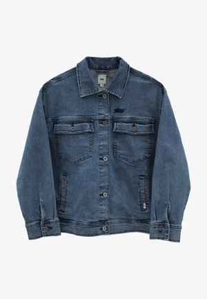 WM TOGETHER FOREVER JACKET - Denim jacket - ocean wash
