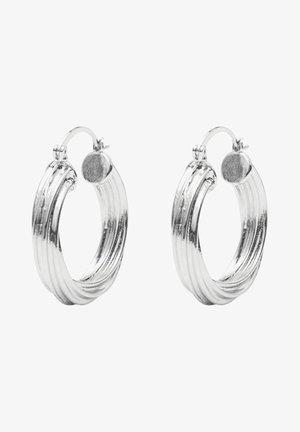 Earrings - silver colour