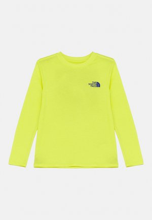 ON MOUNTAIN TEE - Long sleeved top - sulphur spring green