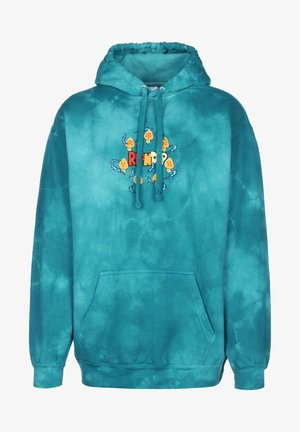 SUPER SAINERM - Hoodie - blue acid wash