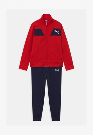 POLY SET UNISEX - Tracksuit - high risk red
