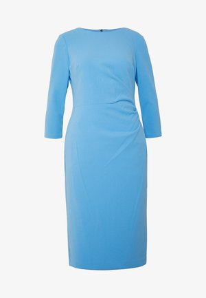 LUXE TECH DRESS - Jerseykjoler - blue