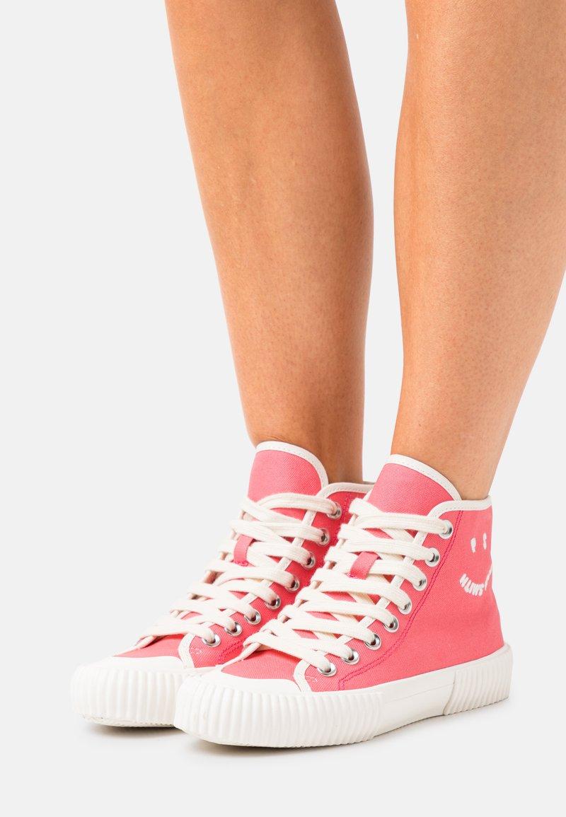 Paul Smith - WOMENS SHOE KIBBY BUBBLEGUM - Sneakers hoog - raspberry