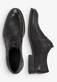 Bianco - DERBY - Stringate eleganti - black - 2