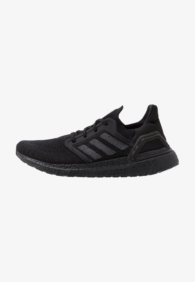 ULTRABOOST 20 PRIMEKNIT RUNNING SHOES - Nøytrale løpesko - core black/solar red