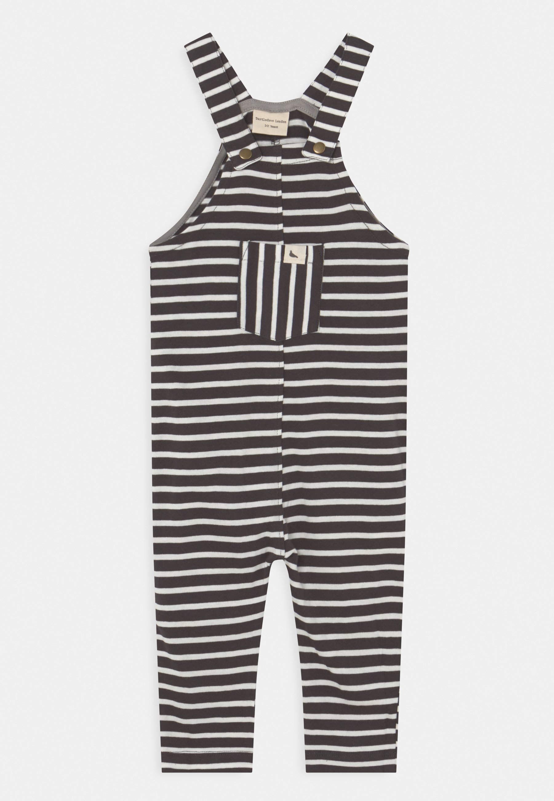 Kids SUMMER STRIPE EASY FIT DUNGAREES UNISEX - Dungarees