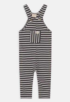 SUMMER STRIPE EASY FIT DUNGAREES UNISEX - Tuinbroek - charcoal