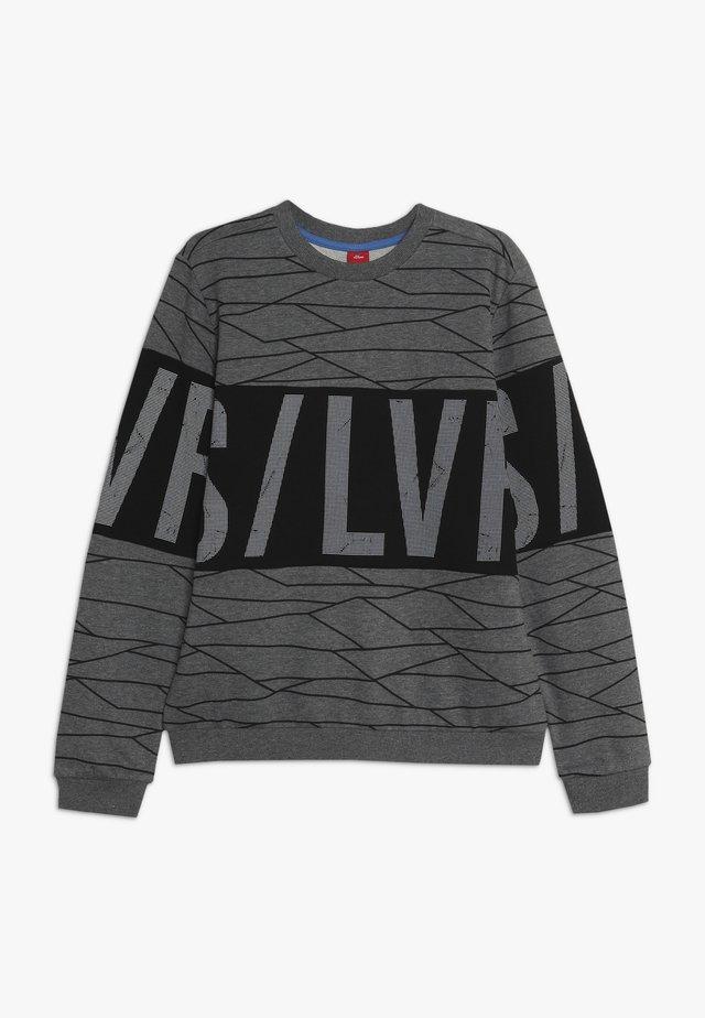 LANGARM - Sweatshirt - mid grey