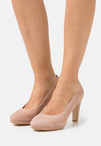 Anna Field - LEATHER COMFORT - High heels - beige - 0