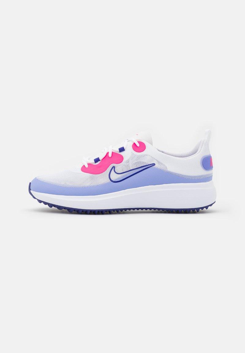 Nike Golf - ACE SUMMERLITE - Golfové boty - white/concord/light thistle/hyper pink