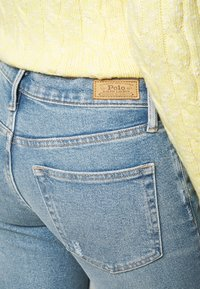 Polo Ralph Lauren - VIONA - Skinny džíny - light indigo - 3