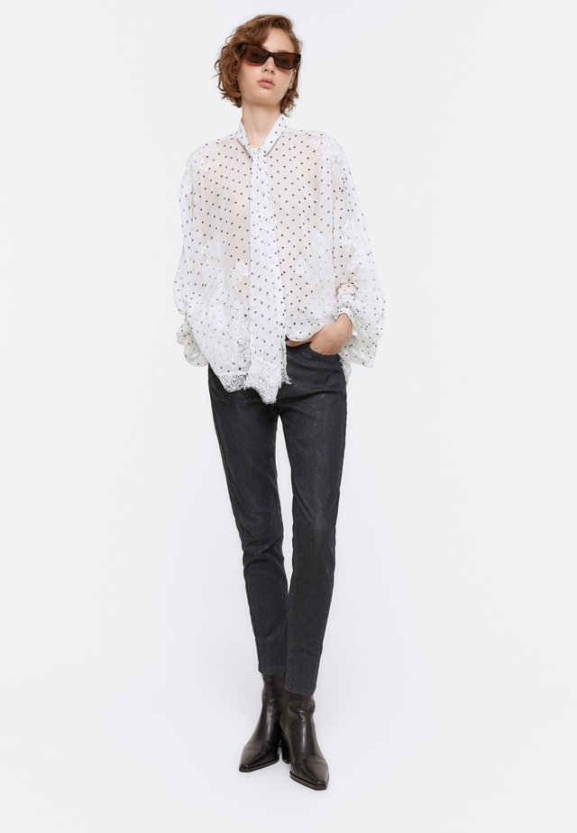 HEMD - Button-down blouse - white