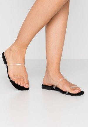 DINA - Sandaler - clear/black