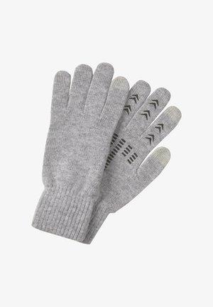 MIT TOUCH-FUNKTION - Gloves - light soft grey melange