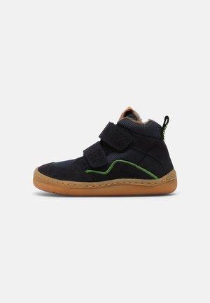 BAREFOOT UNISEX - Winter boots - dark blue