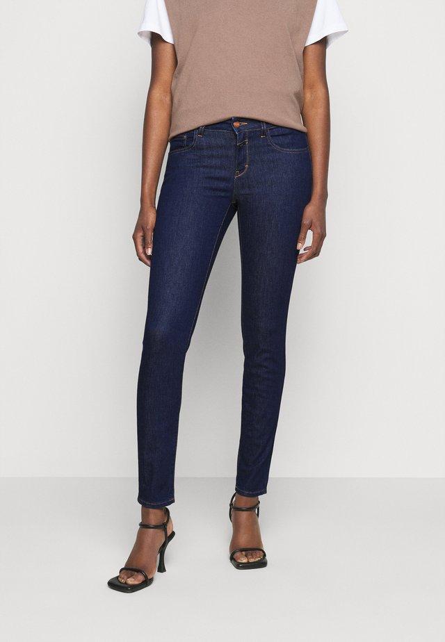 BAKER LONG - Skinny džíny - dark blue