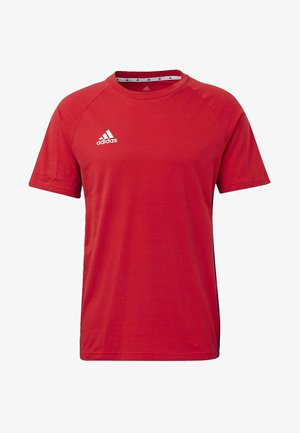 TAN TAPE T-SHIRT - Camiseta estampada - red