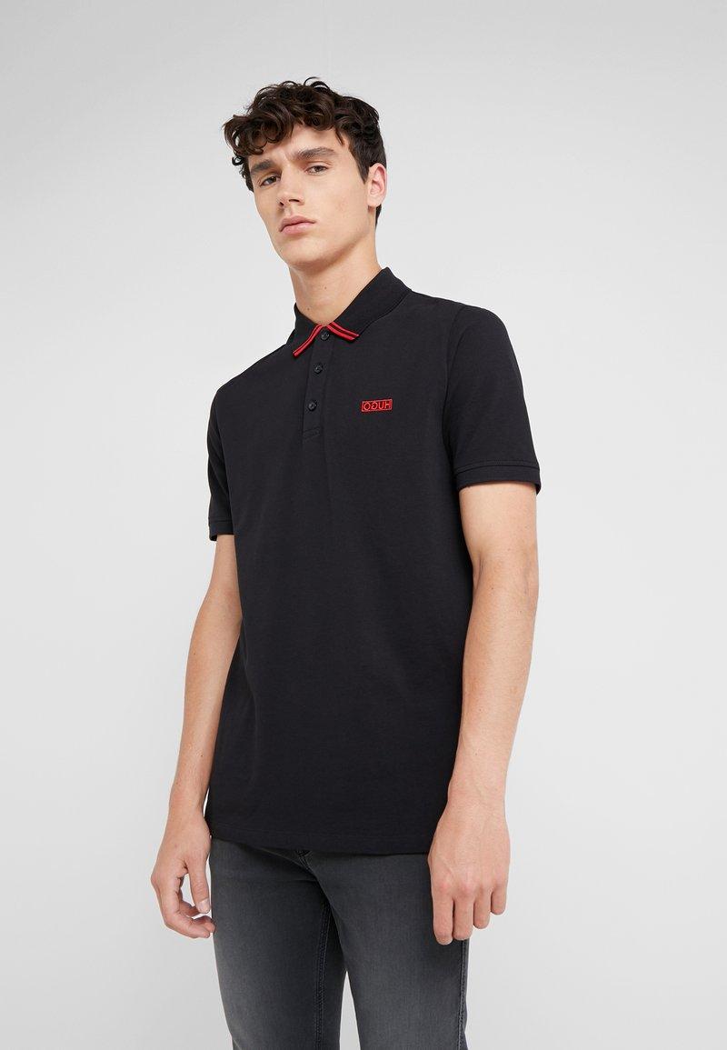 HUGO - DYLER - Polo shirt - black