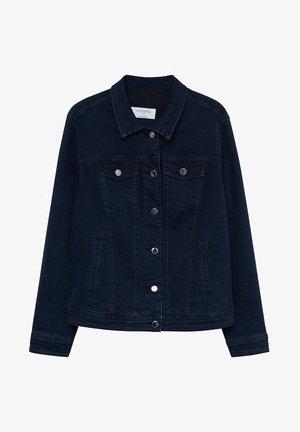 SARAH - Denim jacket - diep donkerblauw