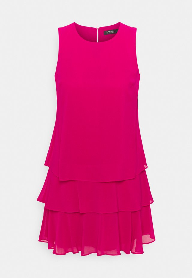 TYREE SLEEVELESS DAY DRESS - Juhlamekko - aruba pink