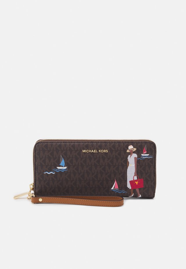 JET SET TRAVEL CONTINENTAL - Wallet - brown/multi