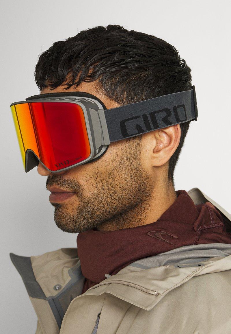 Giro - METHOD - Ski goggles - grey woodmark