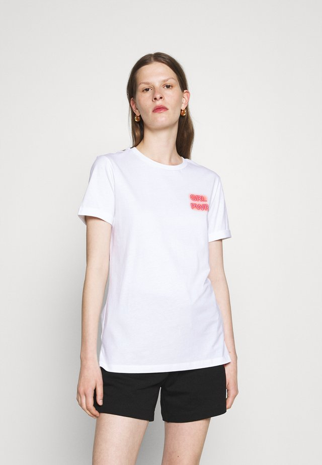 DIBIUSA - T-shirt print - white
