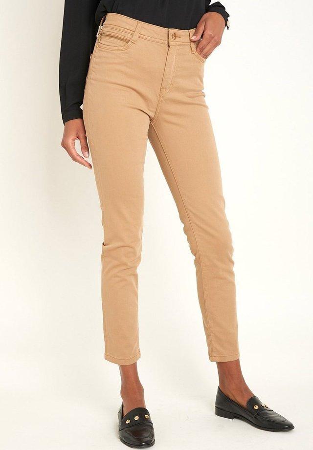 Slim fit jeans - marron