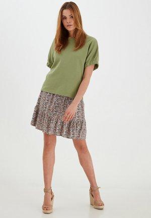 BYMMJOELLA  - Mini skirt - rose tan mix