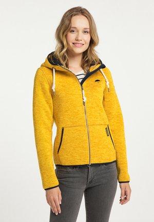Fleece jacket - senf melange