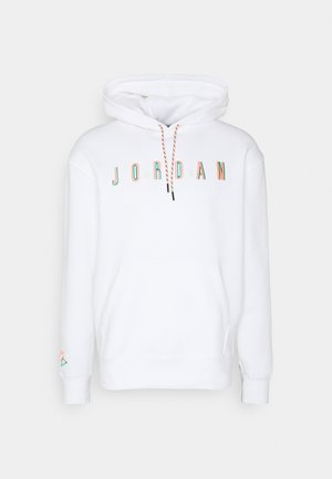 M DNA HBR - Jersey con capucha - white