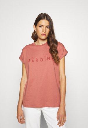 T-shirt print - rosé