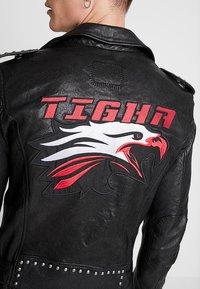 Tigha - ROYCE - Veste en cuir - black - 6