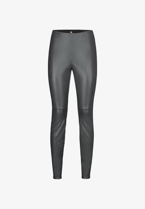 Leggings - Trousers - silber