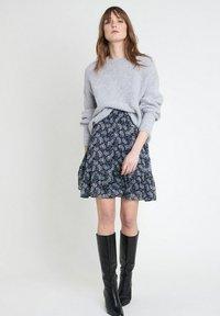 Maison 123 - A-line skirt - bleu marine - 1