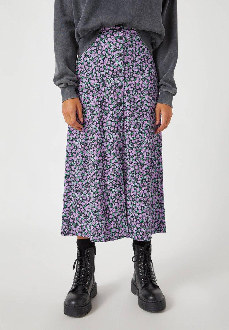 PULL&BEAR - A-line skirt - black