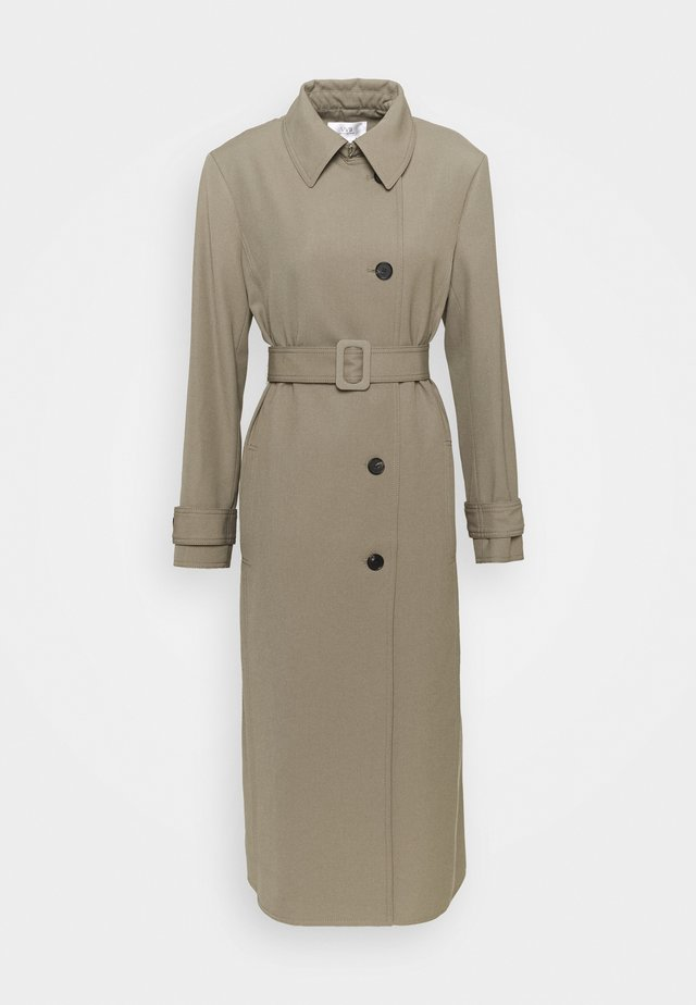 GABERDINE  - Classic coat - clay