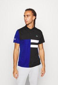 Lacoste Sport - TENNIS - Camiseta de deporte - black/cosmic/white - 0