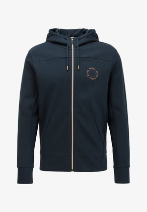 SAGGY CIRCLE - Zip-up hoodie - dark blue