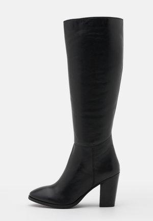 LYCO - Kozačky na vysokém podpatku - noir