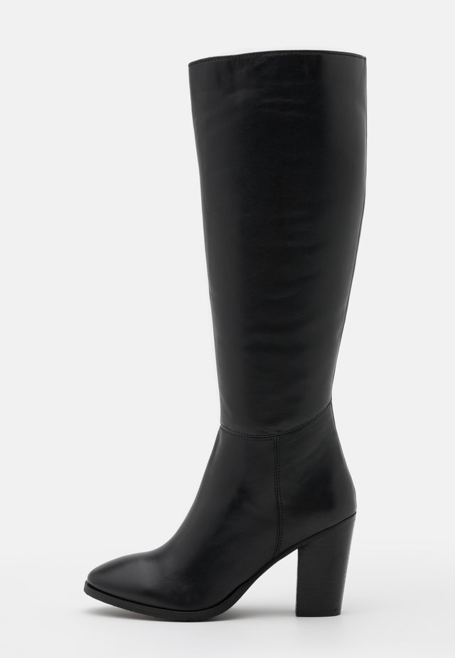 LYCO - High heeled boots - noir