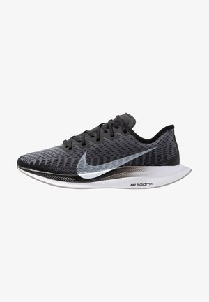 ZOOM PEGASUS TURBO 2 - Obuwie do biegania treningowe - black/white/gunsmoke/atmosphere grey