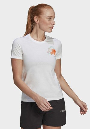 TRAVEL GRAPHIC T-SHIRT - Printtipaita - white