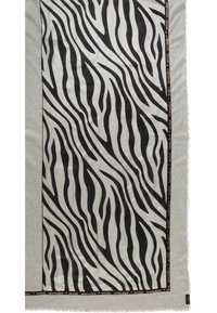 Fraas - Scarf - black/white - 3