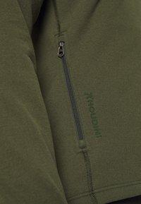 Houdini - MONO AIR - Sweat à capuche zippé - willow green - 6