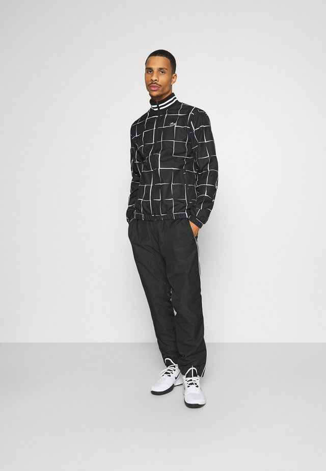 TENNIS TRACKSUIT GRAPHIC - Trainingsanzug - black/white
