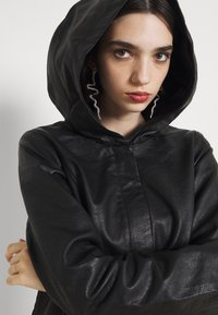 ONLY - ONLSEDONA - Faux leather jacket - black - 5