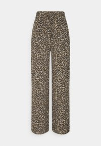 ONLY - ONLANNEMONE LONG PALAZZO PANT - Trousers - pumice stone - 0