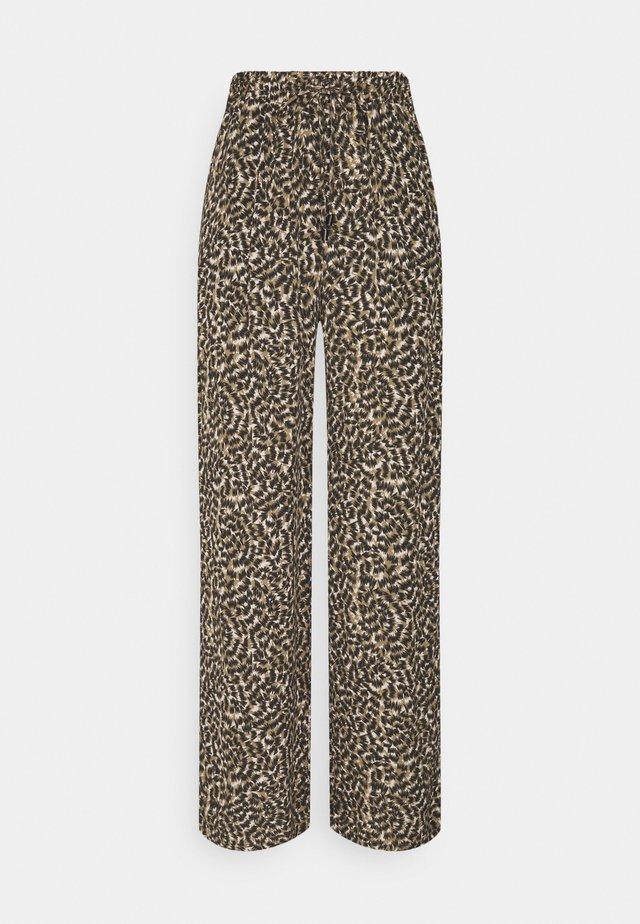 ONLANNEMONE LONG PALAZZO PANT - Pantalones - pumice stone